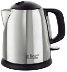 Russell Hobbs Kompakt-Wasserkocher 'Victory' 24990-70, 1 Liter Russell Hobbs silberfarben/schwarz