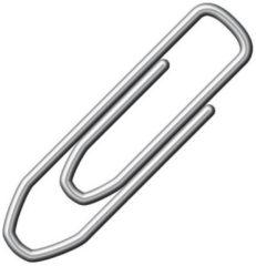 Zilveren Merkloos / Sans marque 1000 stuks kleine paperclips 21 mm