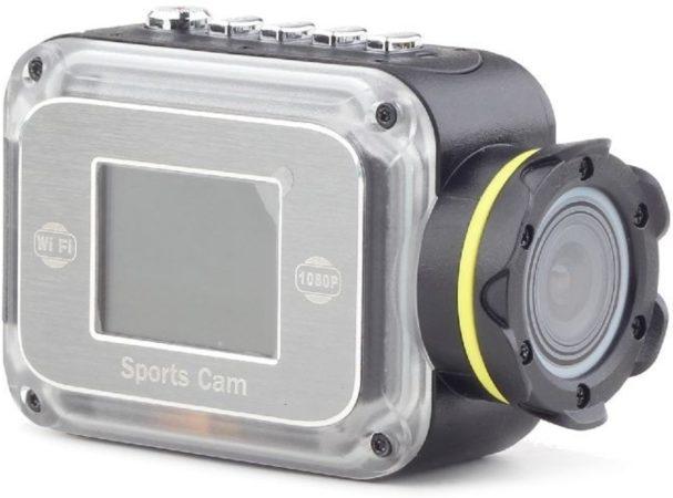 Afbeelding van Gembird action cam Full HD m.Mic+Speaker - Zwart