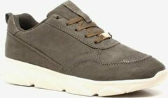 Scapino Blue Box dad sneakers donkergroen