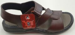 S.F. Shoes Heren Sandalen Heren Wandelsandalen Bruin Maat 42