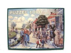 Noordhoff Uitgevers BV Aap noot mies puzzel vertelselplaat 1000
