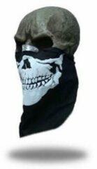 Facemasks Bandana Skull Zwart
