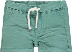 Noppies Jongens Jeans korte broek Suffield - Oil groen - Maat 68