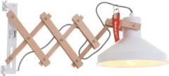Witte Hippe schaarlamp Anne Lighting Woody Scissors wit