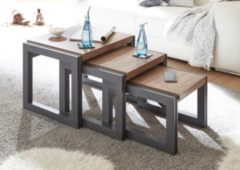 Beistelltische 3er Set Stirling Oak/ Matera IMV Detroit