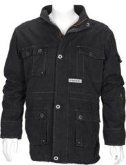 T'RIFFIC STORM Parka Canvas coat 100% katoen Zwart - Maat 4XL