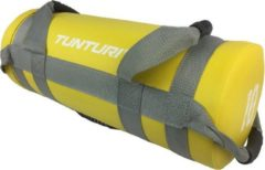Tunturi Power bag - Strength bag - Sandbag - Fitness bag - 10 kg - Geel