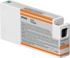 Epson T636A - Inktcartridge / Oranje