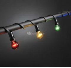 Rode Konstsmide - Feestverlichting - 20 lamps prikkabel shockproof - 950 cm - 230V - voor binnen of buiten - multicolor