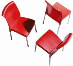 Rode ABC Kantoormeubelen Kantinestoel Design Jenny
