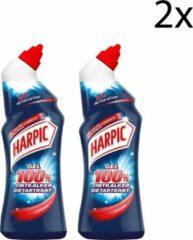 Harpic WC-reiniger Gel 100% Ontkalker- 750ml x2
