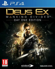 Sonderposten Square Enix Deus Ex: Mankind Divided Day One Edition PS4 Basic + DLC PlayStation 4 video-game