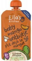 Ella's Kitchen Baby Ontbijtje Mango 6+ Maanden Bio (100g)