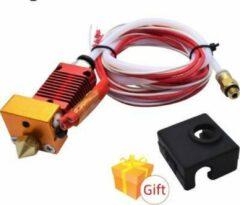 Rode Creality 3D MK8 hotend kit 1,75mm voor 24Volt