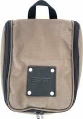 Kaki Esprit Silence khaki cosmetic bag flat