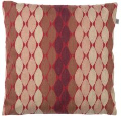 Bordeauxrode Dutch Decor Kussenhoes Adam 45x45 cm bordeaux multi