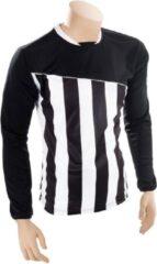 Precision Voetbalshirt Precision Polyester Zwart/wit Maat Xl
