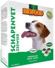 Biofood Schapenvet Mini 80 stuks - Hondensnacks - Zeewier&Vet - Hondenvoer