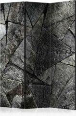Witte Kamerscherm - Scheidingswand - Vouwscherm - Pavement Tiles (Grey) [Room Dividers] 135x172 - Artgeist Vouwscherm