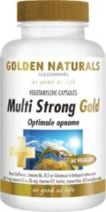 Golden Naturals Multi Strong Gold (60 vegetarische capsules)