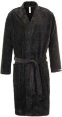 Bademantel Kimono Länge 120 cm Taubert black