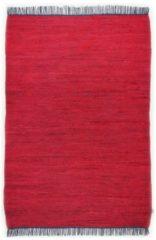 Handwebteppich Cotton Tom Tailor Rot