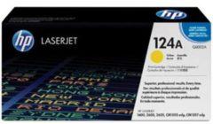 HP 124A Q6002A Tonercassette Geel 2000 bladzijden Origineel Tonercassette