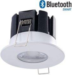 Witte Bridgelux Dimbare Bluetooth LED inbouwspot Stockholm 10 Watt IP65 - 5 jaar garantie