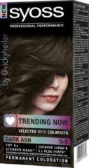 SYOSS Color Trending Now 5-5 Dark Ash 50 ml Haarverf- 1 stuk