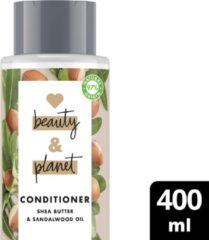 Love Beauty and Planet Love Beauty & Planet Conditioner Happy & Hydrated - 400 ml Shea butter & Sandalwood