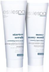 Essie Spa Manicure Starter Scrub (75 ml) + Many Many Many Handlotion (75ml)