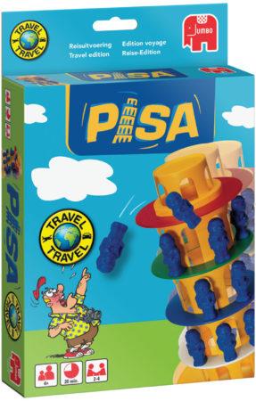 Afbeelding van JUMBO Spel Toren Van Pisa Reisspel K5 (6012679)