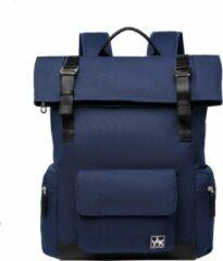 Marineblauwe YLX travel gear YLX Original Backpack 2.0. Navy blauw. Recycled Rpet materiaal. Eco-friendly