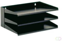 Classex Class'ex sorteerrek, 3delig, zwart, Ft 380 mm x 250 mm x 160 mm (B x L x H)