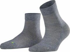 Licht-grijze FALKE Cool Kick Unisex Sneakersokken - Lichtgrijs - Maat 37-38