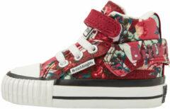 ROCO Baby meisjes sneakers hoog - Rood - maat 20