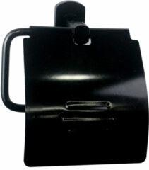 Badstuber Soho toiletrolhouder mat zwart