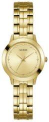 Gouden GUESS Chelsea horloge W0989L2