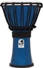 Toca TFCDJ-7MB Freestyle Colorsound Djembe Metallic Blue djembé