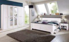 Wimex Schlafzimmer-Sparset mit Drehtürenschrank (5-tlg.)