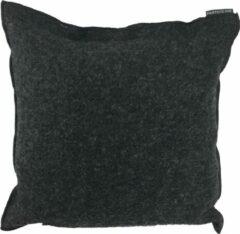 Donkergrijze Particolare Kussen Cooked wool Dark grey 296