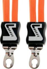 Zwarte Simson Snelbinder, 3 binder, oranje
