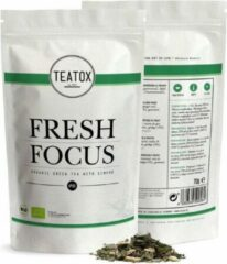 Teatox Fresh Focus Bio groen Tea Gingko 70g REFILL