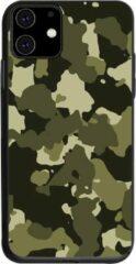 Able & Borret Smartphone hoesje | Telefoon hoesje | Anti shock | Stofdicht | Donkergroen | iPhone 11