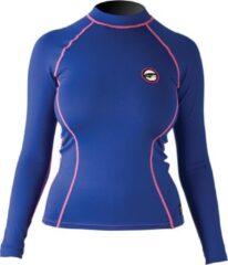 Pro Limit Prolimit Zwemshirt Dames lange mouwen - Blauw/Roze - Maat S