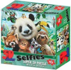 Prime 3d Legpuzzel 3d Kids Dierentuin 63 Stukjes
