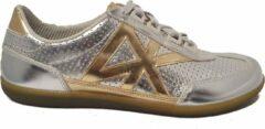 Zilveren DKNY Vintage Court Dames Veterschoen 23187732 040 Silver Maat 38,5