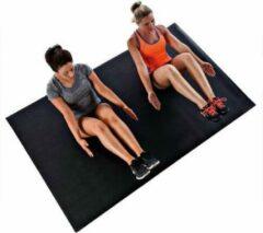 Sportbay® Pro Cardio fitnessmat zwart (Extra groot)