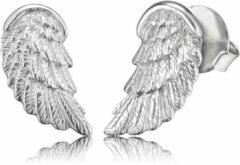 Zilveren Engelsrufer Oorbellen vleugel ERE-WING-ST